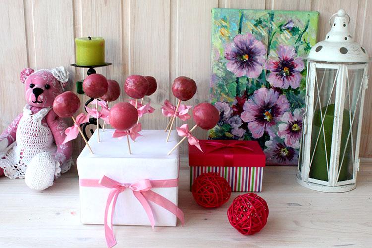 Сладкий стол в розовом цвете