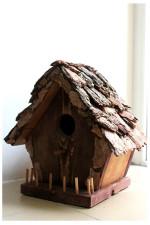 Дом для птиц — Дизайнерский скворечник.