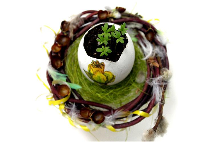 Декорированное яйцо