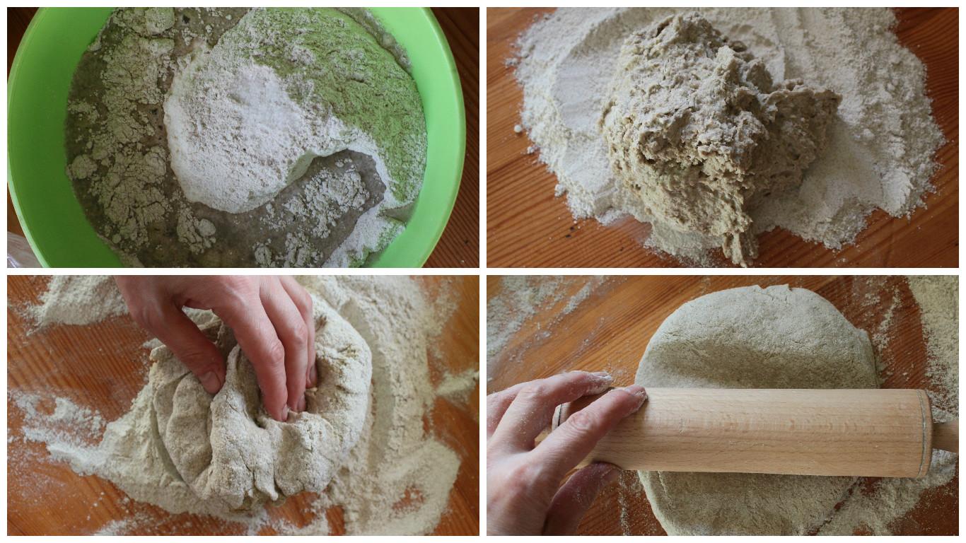Тесто для сладкой калитки