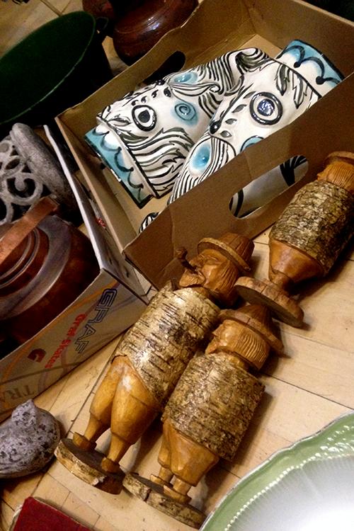 Подготовка предметов декора к транспортировке в магазин