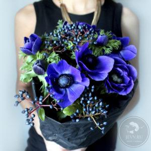 синие сцветы