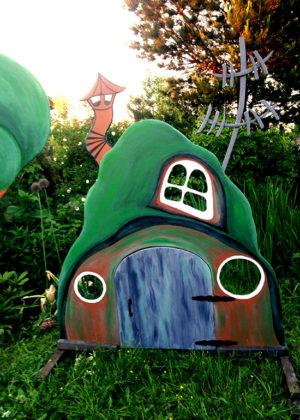 Готовый сказочный домик