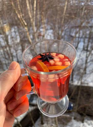 Согревающий ароматный чай Альпийский глинтвейн