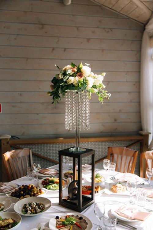 Аренда стойки для цветов в стиле лофт