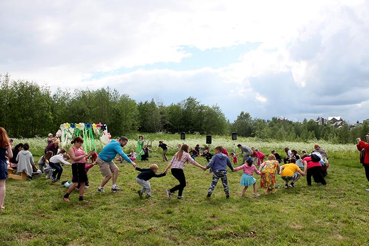 Игры для взрослых и детей на природе