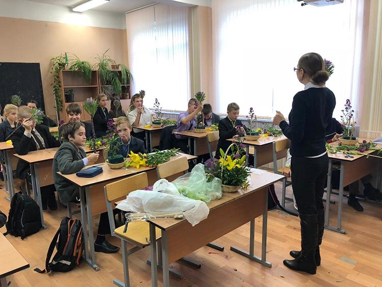 Мастеркласс для учеников лицея на день учителя