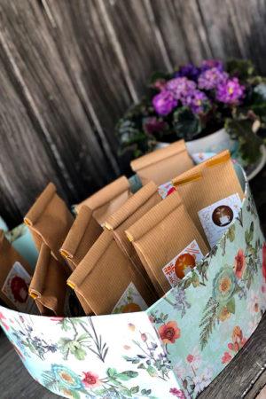Подарки с кофе и чаем на праздники сотрудникам