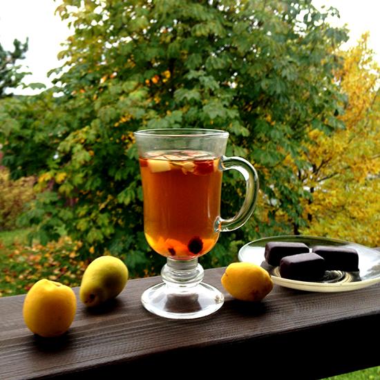 Чай Альпийский глинтвейн осенью