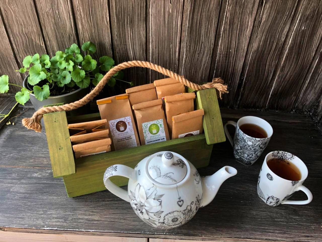 Чай для салона Коктейль