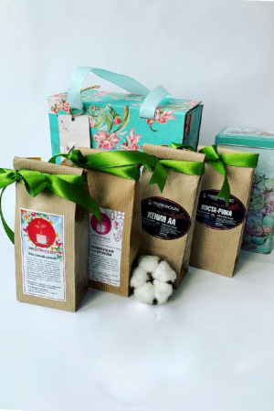 Наборы с чаем и кофе для учителей
