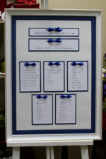 Рассадочная карта гостей на свадьбе.