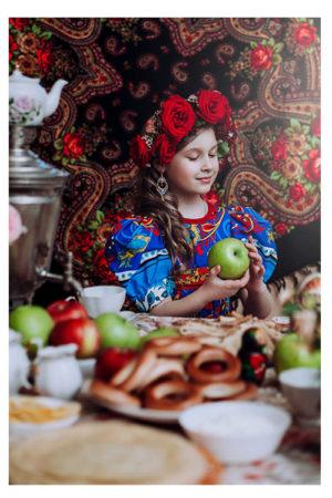 Веночек для русского стиля