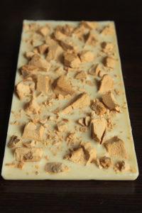 Белый шоколад с сублимированным мороженым