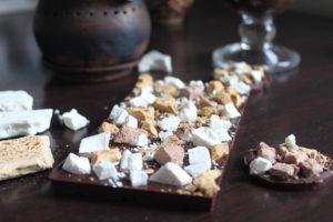 Белый шоколад с сухим мороженым