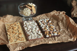 Плитки шоколада с сублимированным мороженым