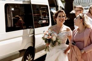 Свадебный трансфер на микроавтобусах Мерседес