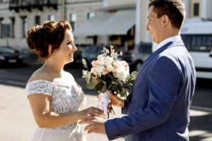 Свадьба Романа и Анастасии в особняке Брюллова
