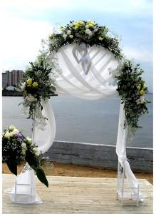 Арка для свадебной церемонии.