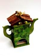 """Домик для хранения чая """"Клевер"""""""
