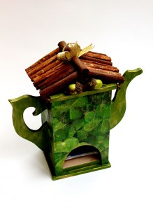 Домик для хранения чая «Клевер»