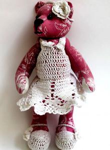 Мягкая игрушка ручной работы «Розетта»