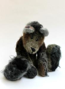 Плюшевый медведь ручной работы «Потапкин»