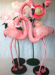 Фламинго на стойке. Прокат.