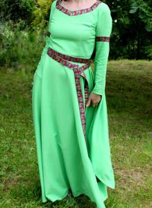 Платье в народном стиле. Прокат.