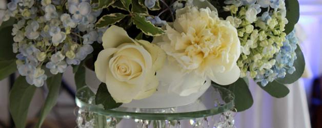 Хрустальная подставка под цветочную композицию в аренду