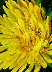 Картина «Солнечный одуванчик».