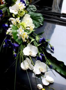 Прокат свадебной композиции на автомобиль.