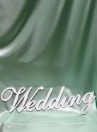 """Слово для фотосессии """"Wedding""""."""