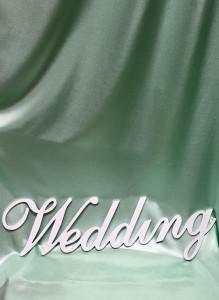 Слово для фотосессии «Wedding».